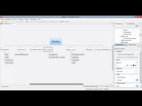 Sitemaps entwerfen mit XMind