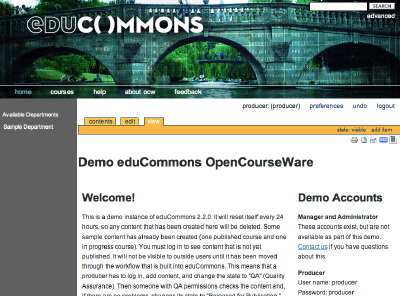 utah state university opencourseware The utah state university opencourseware project has shut down because it ran out of money, according to its former director, making it perhaps the biggest venture to close in the burgeoning movement to freely publish course materials online the project published a mix of digital content.