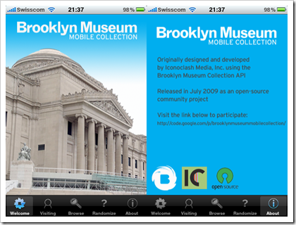 Brooklyn Museum Mobile Collection für iPhone (Screenshots)