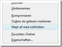 Screenshot: MarkSubfolders