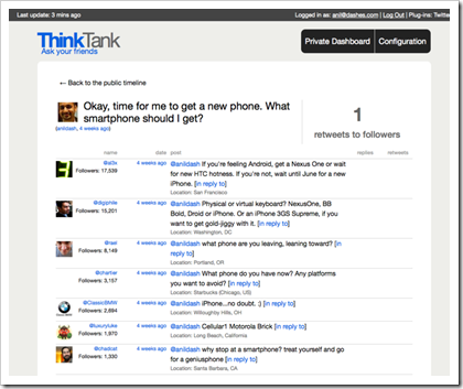 ThinkTank Screenshot