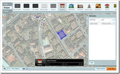 Mapzen - Editor für OpenStreetMap