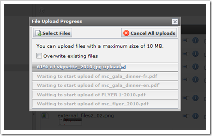 TYPO3: Flash-Uploader seit TYPO3 4.3