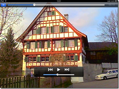 VLC Media Player für iPad: Wiedergabe