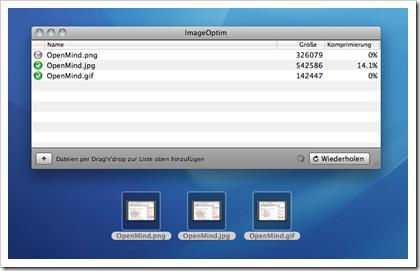 ImageOptim für Mac OS