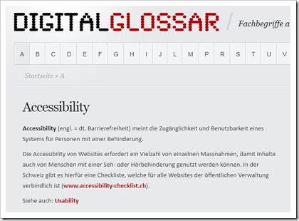 DigitalGlossar: Ein auf WordPress basierendes Online-Glossar