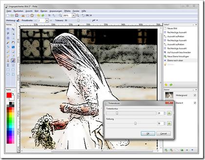 Pinta: Auf dem Mono-Framework basierendes Grafikprogramm für Windows, Mac OS und Linux