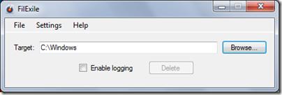 FilExile: Vitale Verzeichnisse des Betriebssystems sind im Standard Mode geschützt