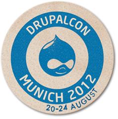Drupalcon München 2012 Logo