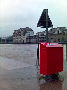 Hochwasser in Zürich 1