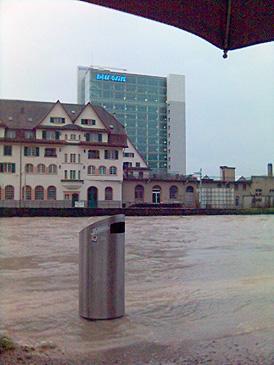 Hochwasser in Zürich 2