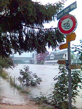 Hochwasser in Zürich 3
